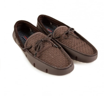 Swims Woven Loafers Brown