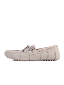 Swims Lace Loafers Woven Khaki