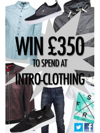 WIN £350 TO SPEND IN-STORE OR ONLINE