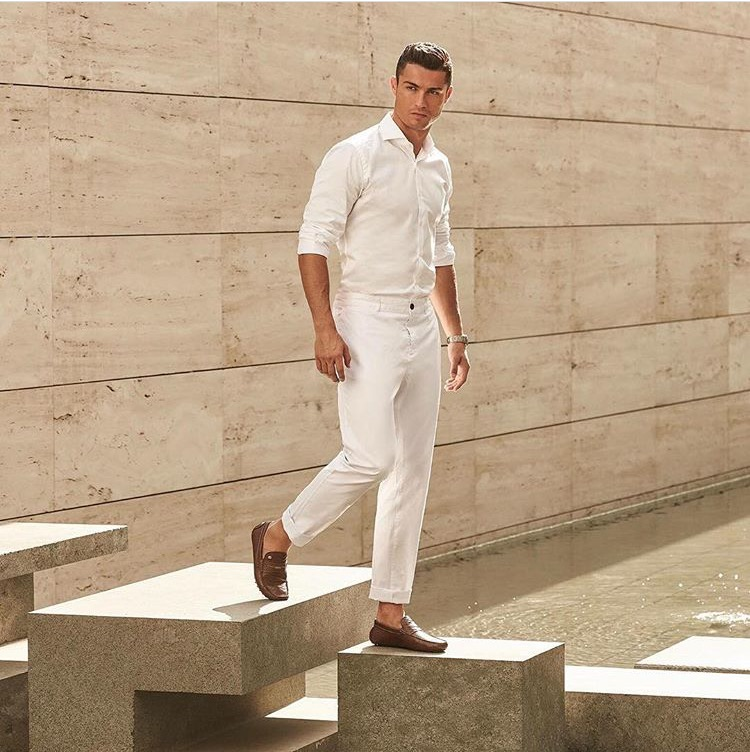 Cristiano Ronaldo Summer Inspired Outfit Intro Clothing