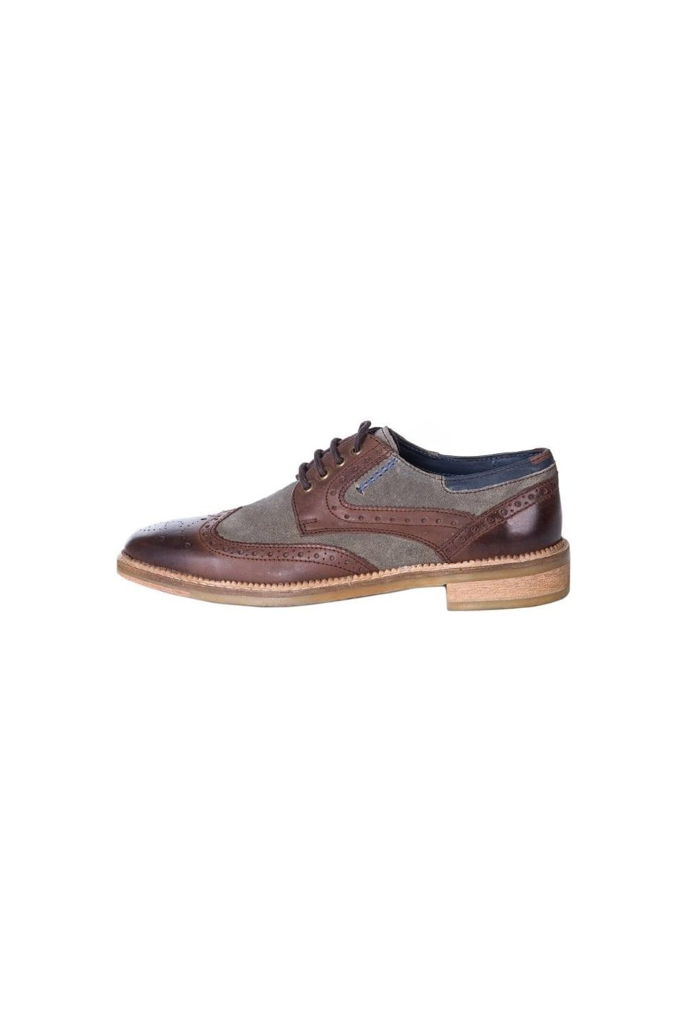 Goodwin Smith Weir Brogue Shoes Brown Intro Clothing