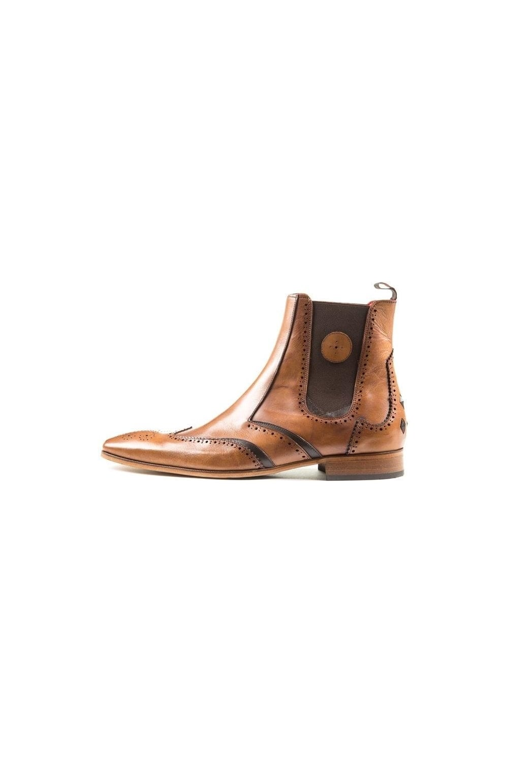 bb71536175 Jeffery West | J936 Chelsea Boots Tan | Intro Clothing
