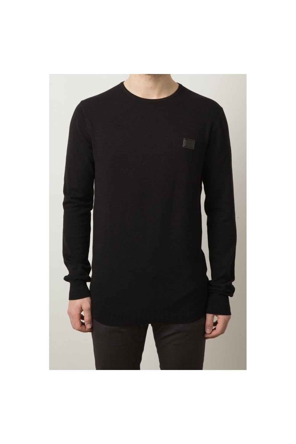 eec27cda2c30a Black Badge Sweater Black