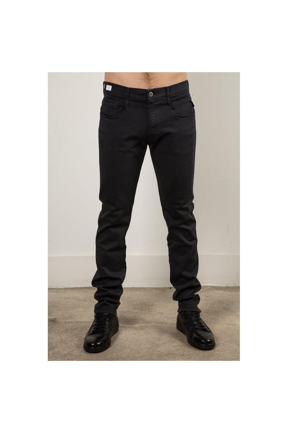 Replay Anbass Skinny Fit Jeans Dark Grey Intro Clothing