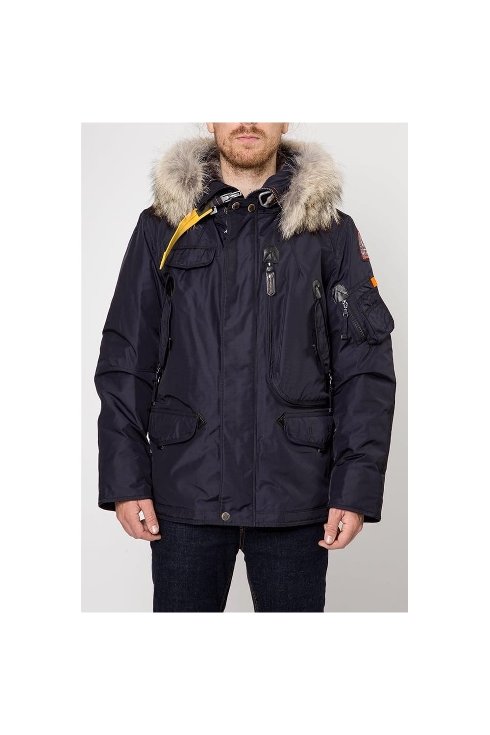 Right Hand Man Coat Navy