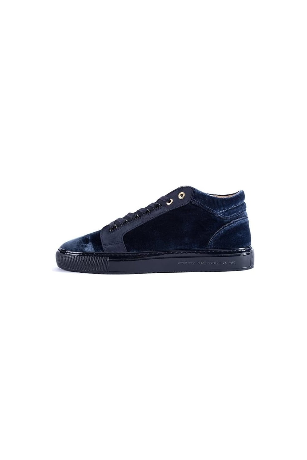 bb64754e7a4 Android Homme Propulsion Mid Velvet Trainers Navy