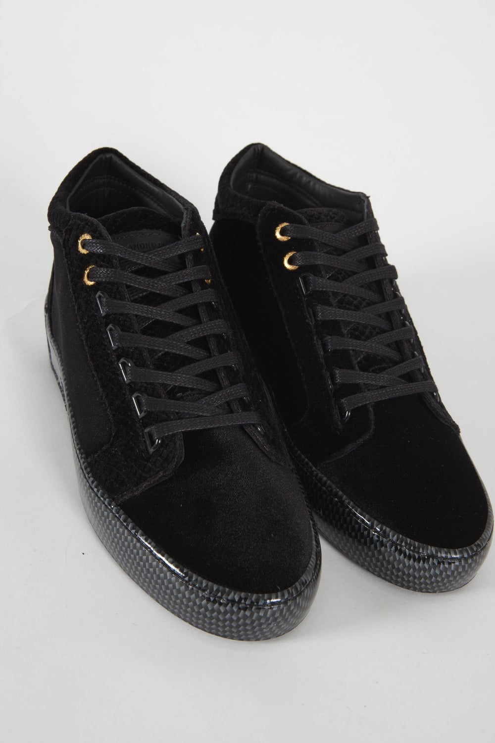 Android Homme Propulsion Mid Carbon Trainers Black Intro