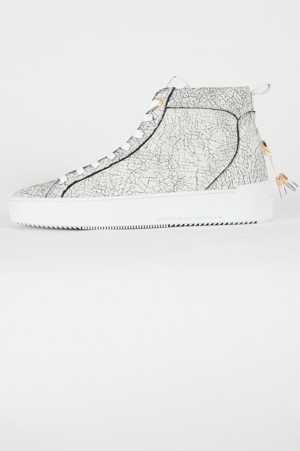 Android Homme   Alfa Mid Trainers White