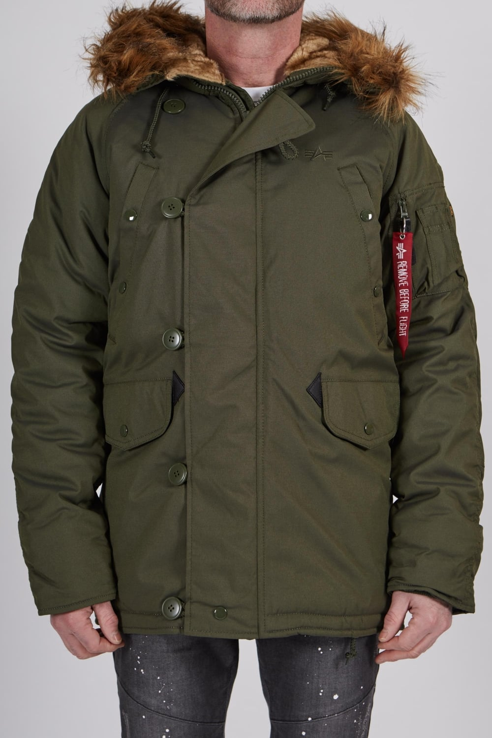 nivel Opcional Centrar  Alpha Industries | Explorer Fur Hood Parka Green | Intro