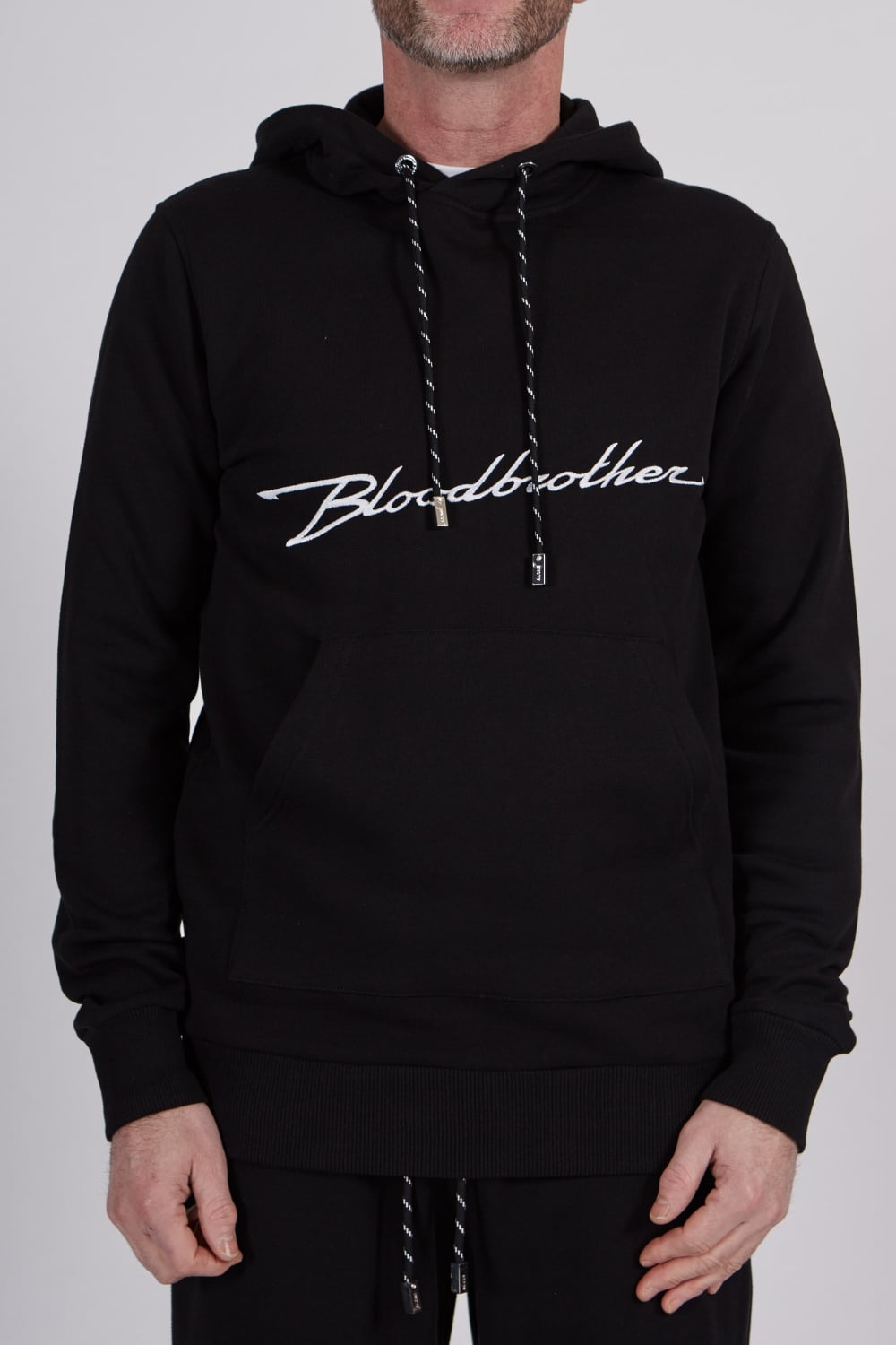 con Accelerate Sudadera Blood capucha de Brother Black A0wP1qPxnd