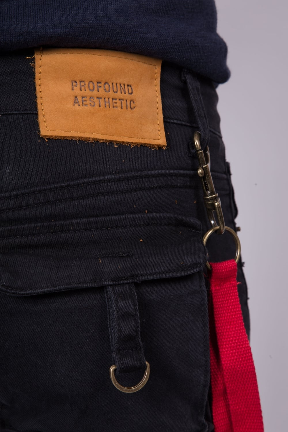 242943e0 Profound Aesthetic | D-Ring Cargo Pant Jeans Olive | Intro