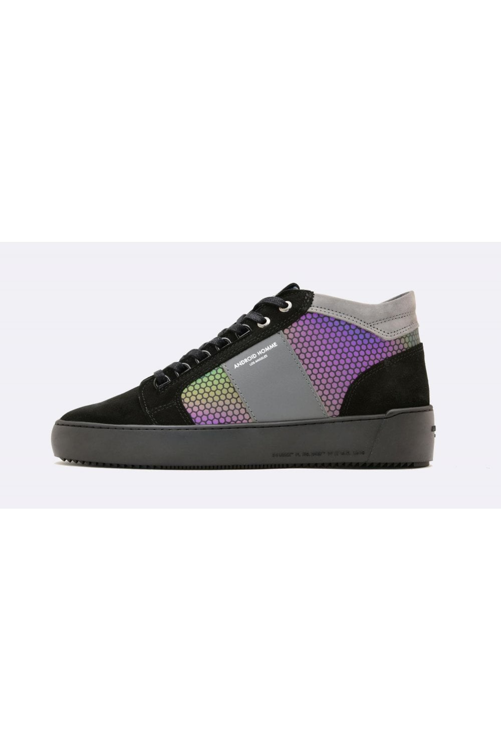 Android Homme Propulsion Reflect Mid Geo Black Hex Men S Footwear From Intro Uk