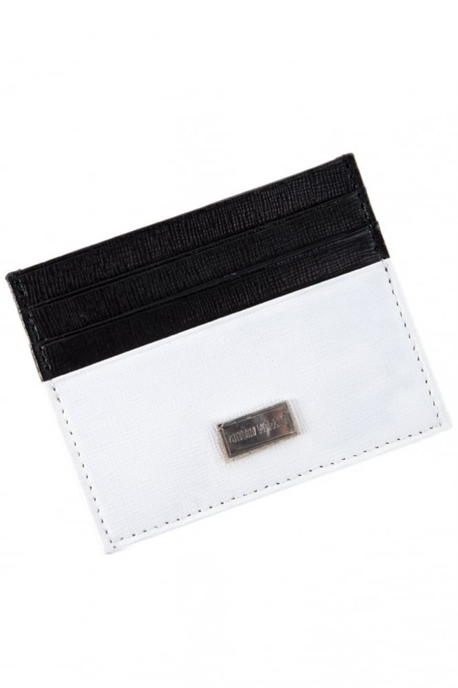 Antony Morato Two Tone Card Holder Black/White