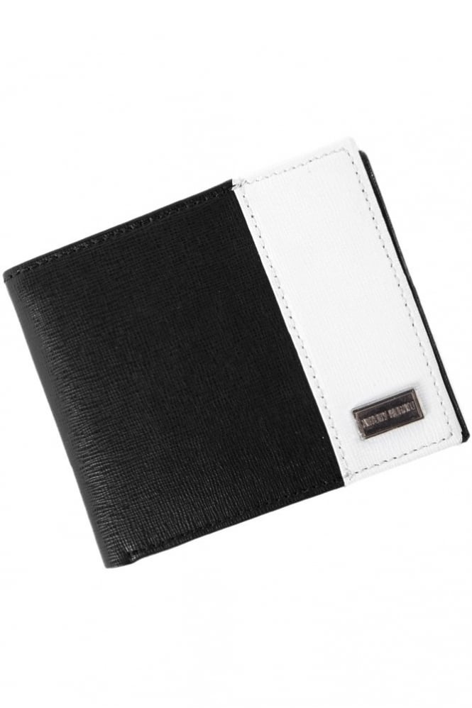 Antony Morato Two Tone Wallet Black/White