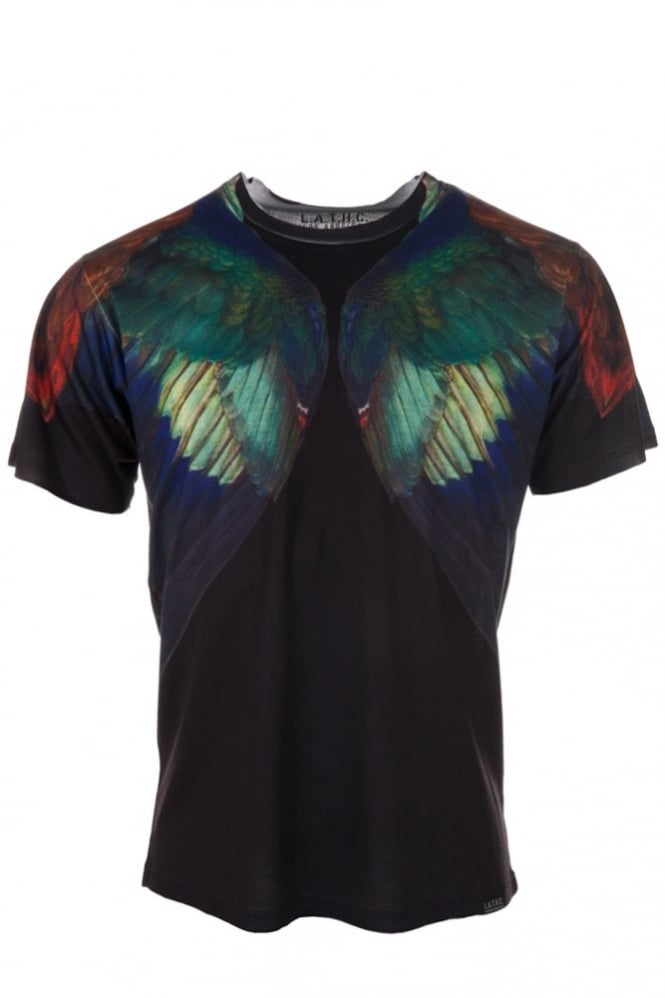 LA Tree House Club Durer Wings T-Shirt Black