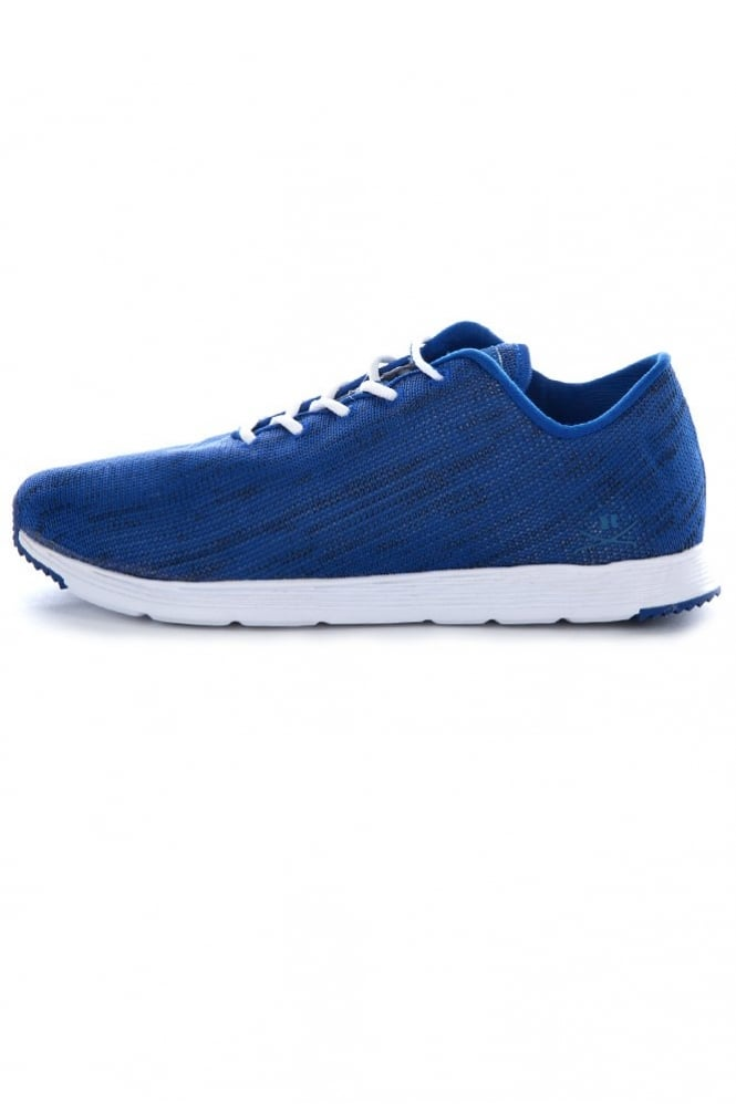 Ransom Field Lite Knit Trainers Blue
