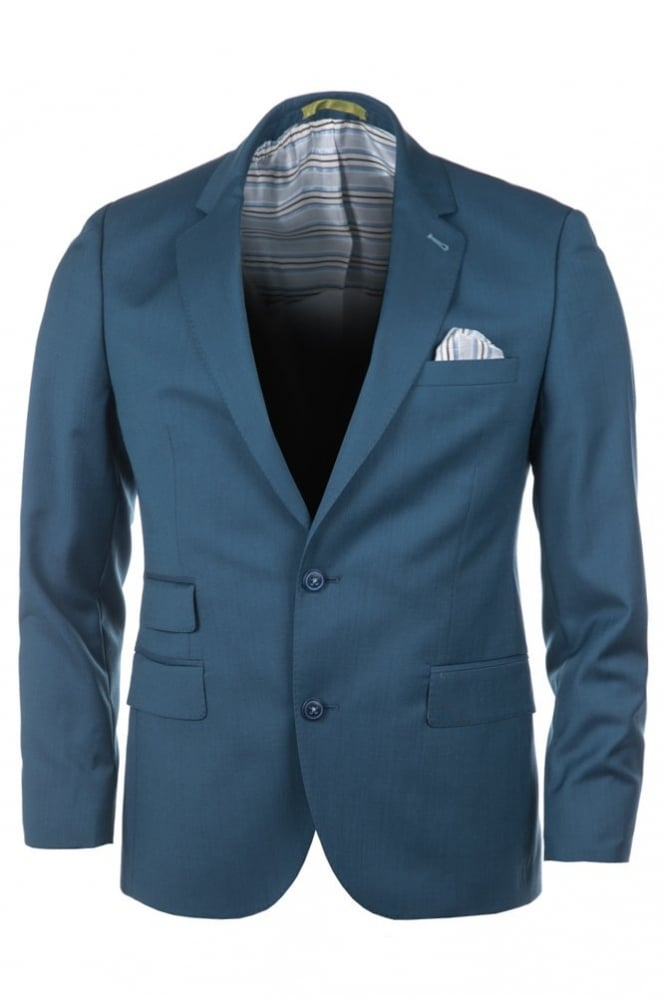 Gibson Seasonal 3 Piece Suit Blue