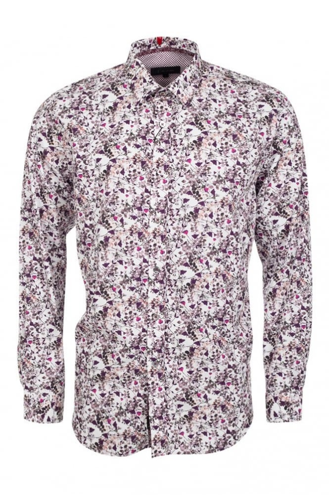 One Like No Other Flux Presse Flower Shirt Multi-Colour
