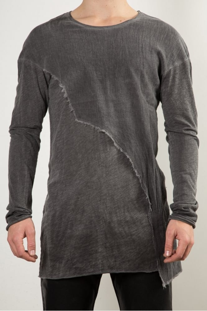 Delusion Aska Long Sleeve T-Shirt Grey