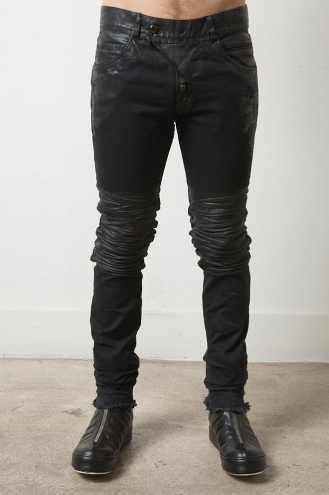Delusion Riki Creased Jeans Black