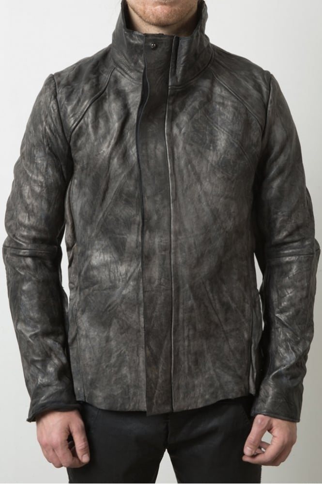 Delusion Vaskr Leather Grey