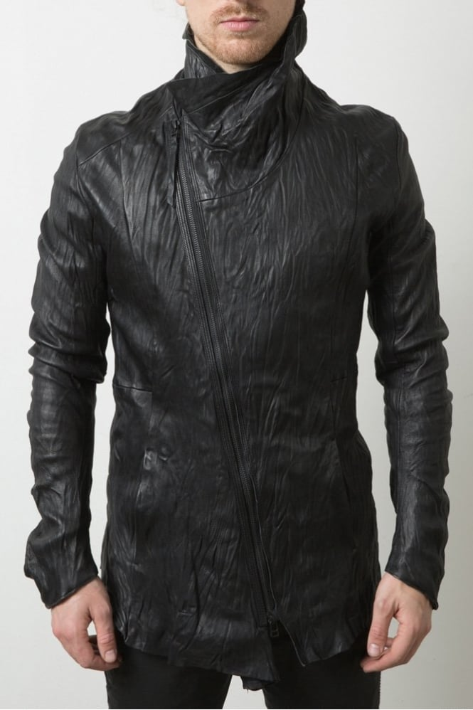 Delusion Halla Leather Jacket Black