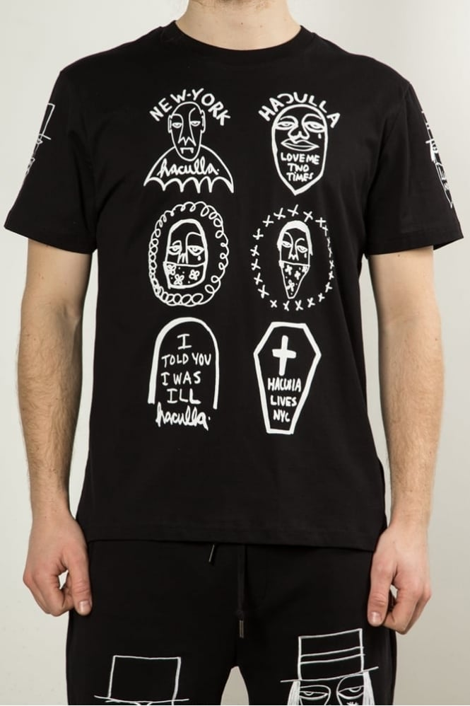 Haculla NYC Tribe T-Shirt Black