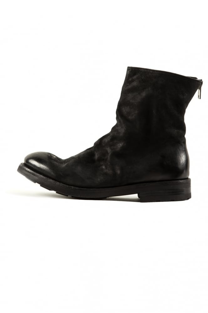The Last Conspiracy Regin Matt Leather Boots Black