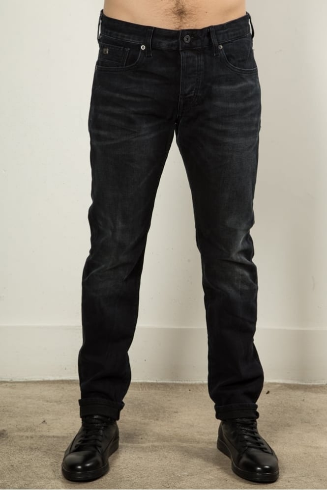 Scotch & Soda Phaidon Plus Night Sky Jeans Black