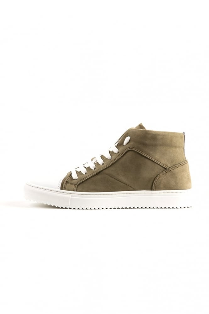 Antony Morato Toe Cap Hi Top Trainers Green