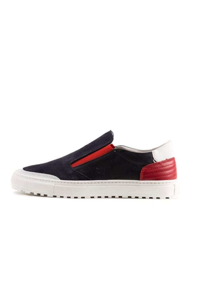 Antony Morato Slip On Trainers Navy