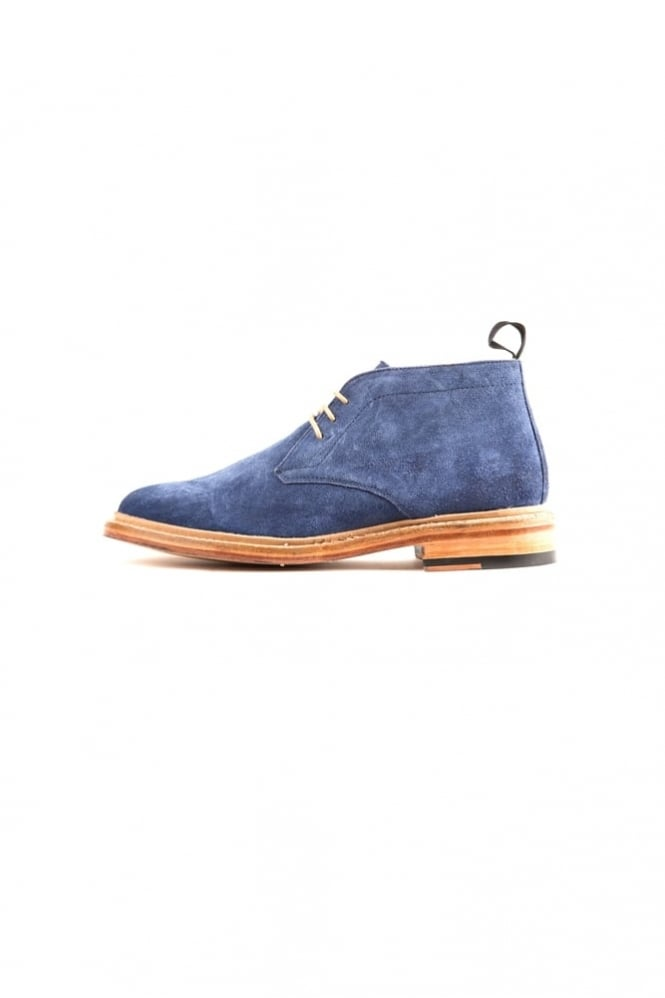 Paolo Vandini Newfield Desert Boots Navy