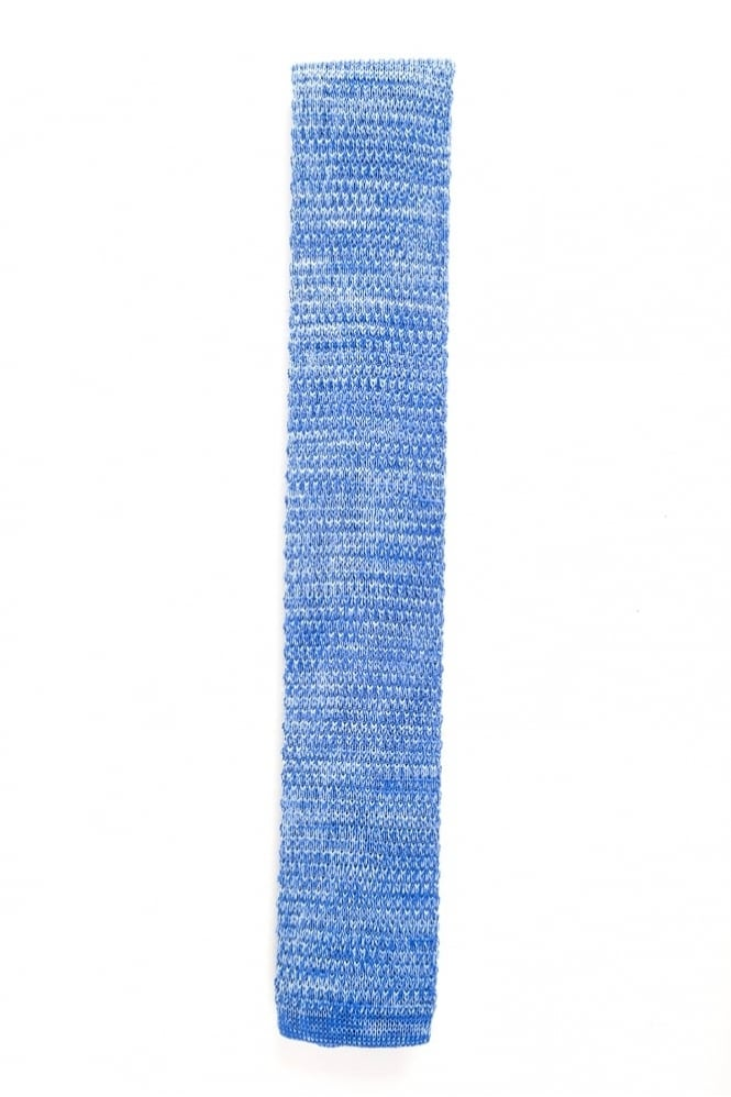 Gibson Knitted Tie Light Blue