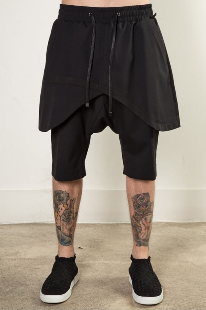 D.Gnak K6553 Traditional Line Shorts Black