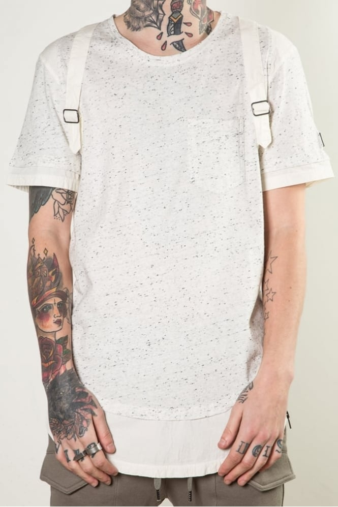 Black Kaviar Gittle T-Shirt White