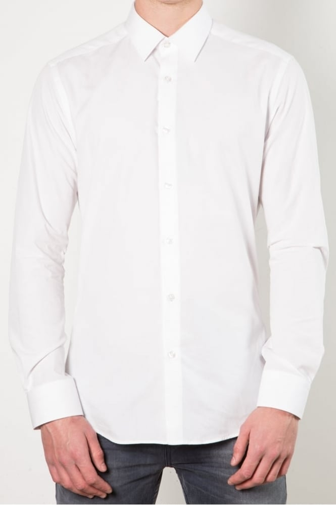Remus Uomo Ashton Classic Collar Shirt White