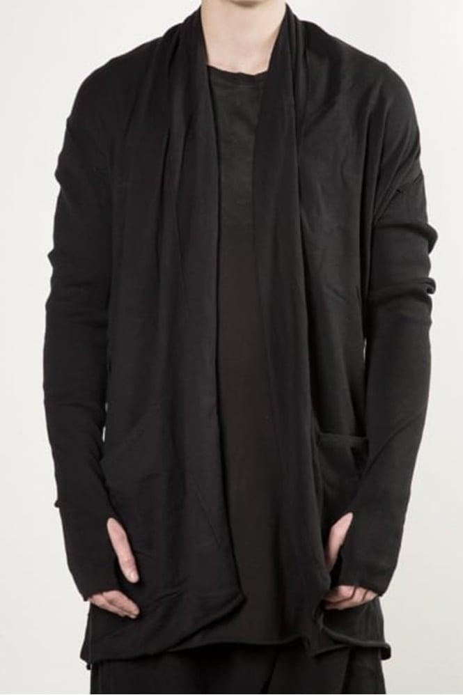 Delusion Abey Knitted Cardigan Black