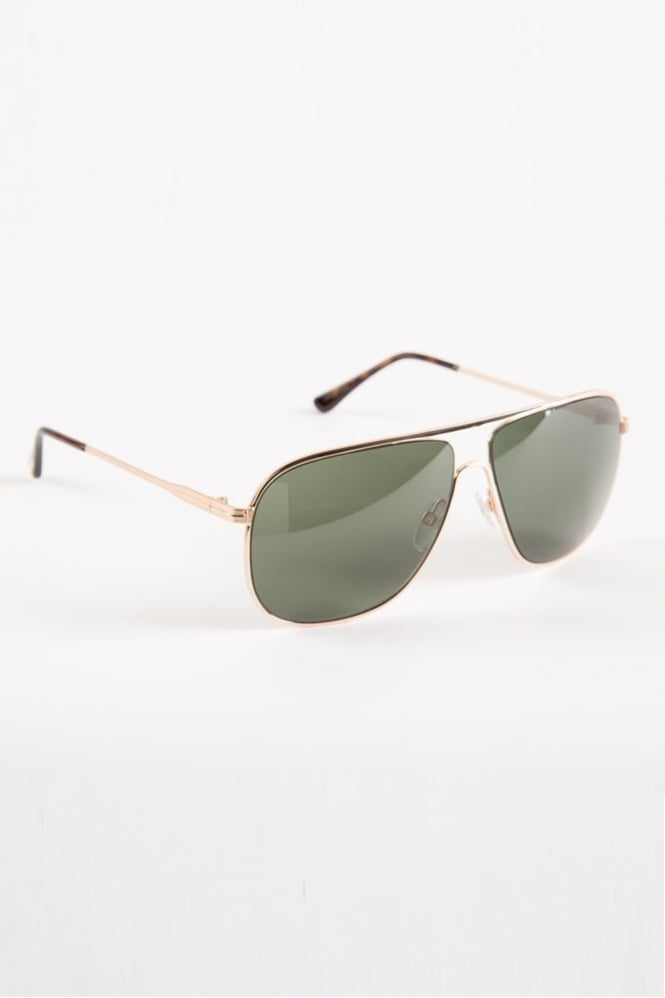 Tom Ford Dominic Sunglasses Gold