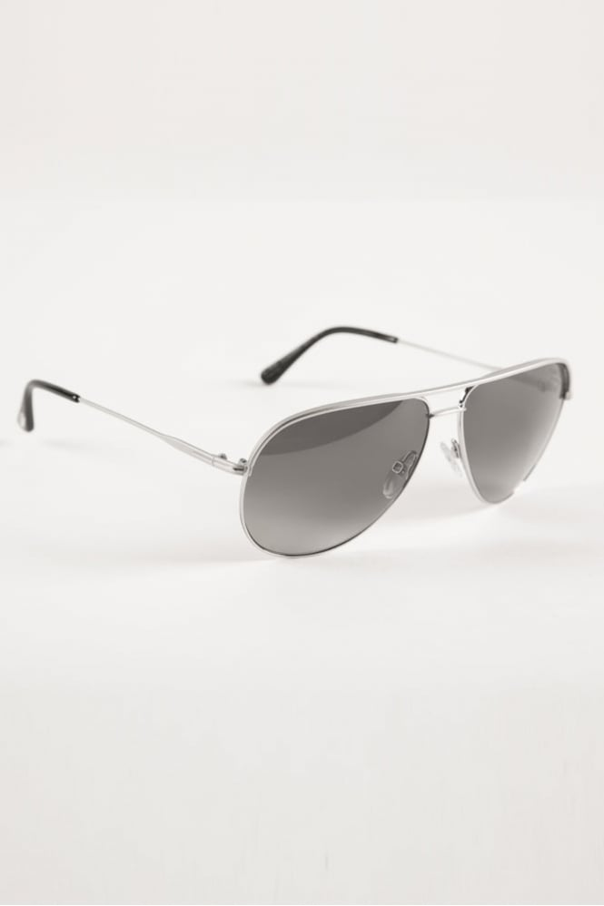 Tom Ford Erin Sunglasses Silver