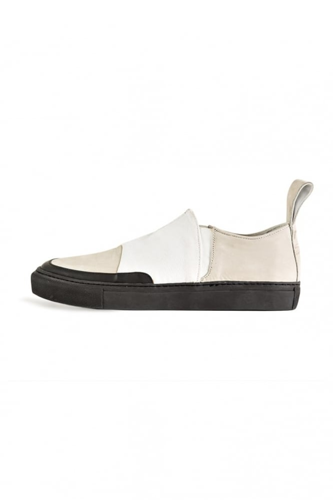 Blood Brother Shen Lo Slip On Trainers White