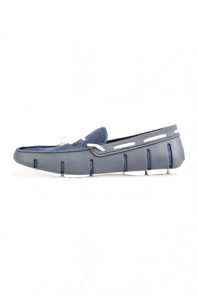 Swims Lace Loafers Navy/White