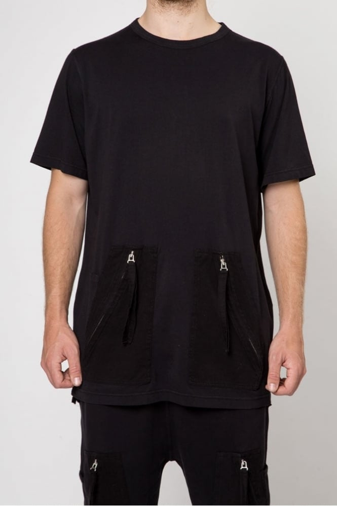 Blood Brother Mill T-Shirt Black