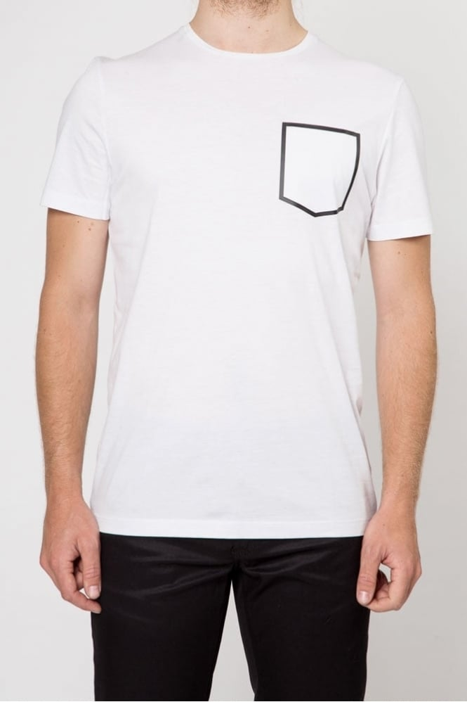 Antony Morato Pocket Print T-Shirt White
