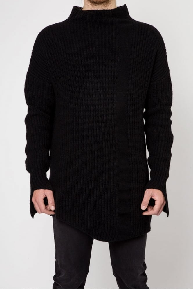 Thom Krom MK38 Knitted Sweater Black