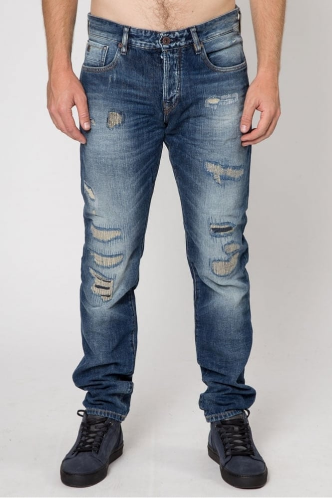 Scotch & Soda Ralston The Double Jeans Blue