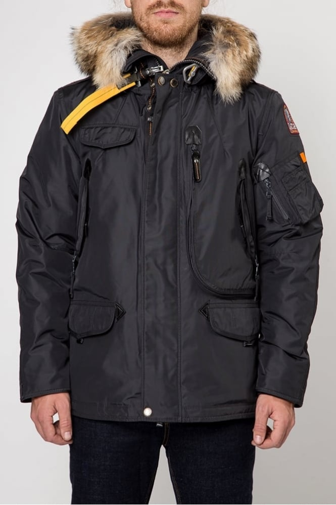 ParaJumpers Right Hand Man Coat Black
