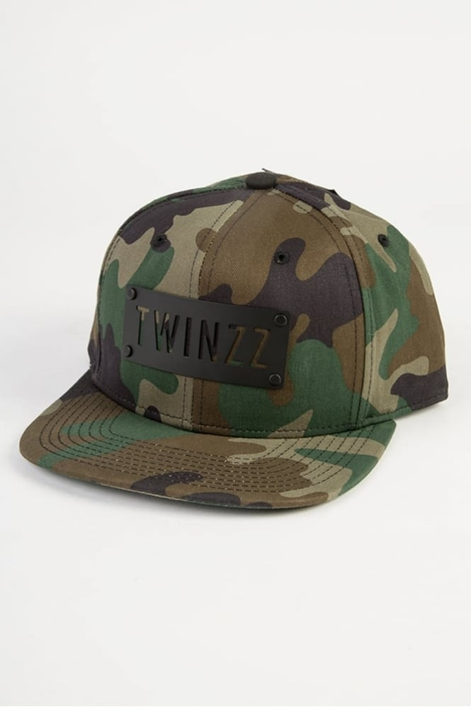 Twinzz Williamsburg Plate Snapback Camo