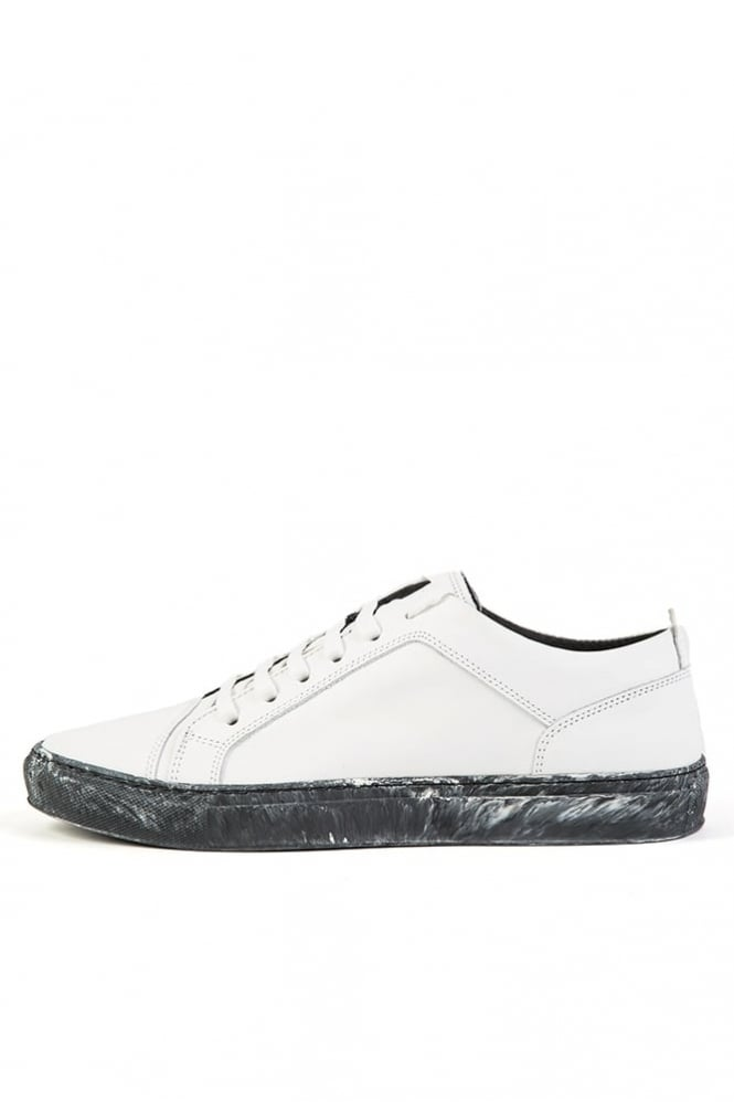 Antony Morato Low Leather Trainer White