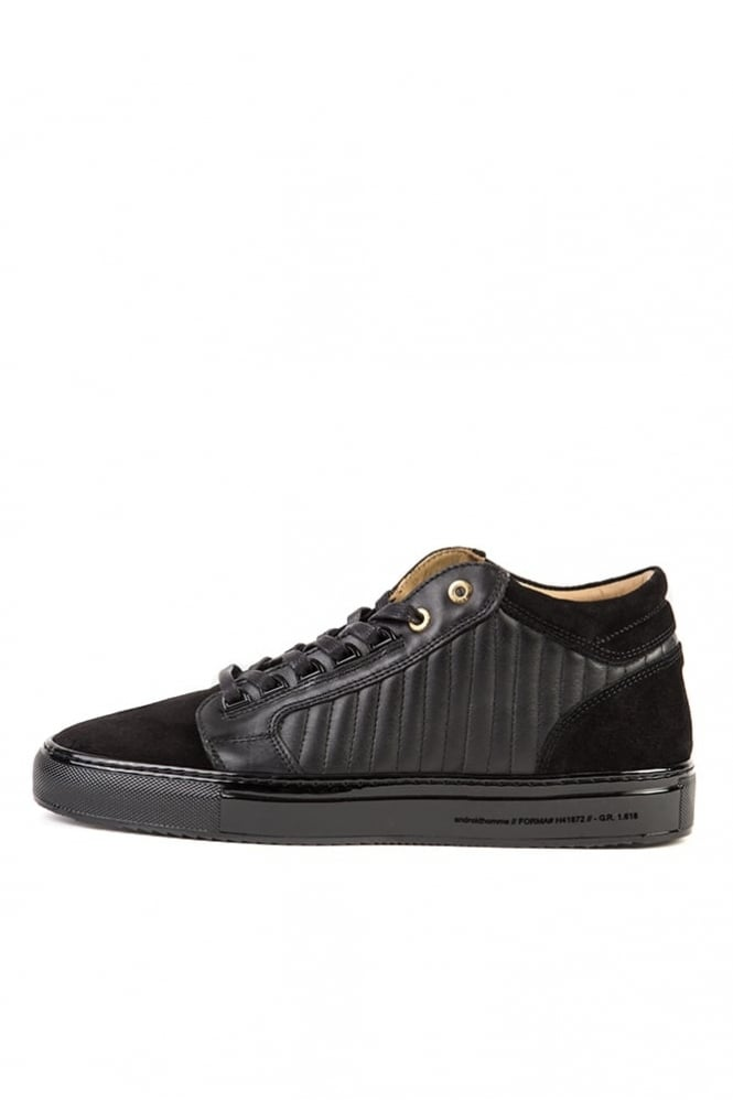 Android Homme Propulsion Gloss Sole Trainers Black