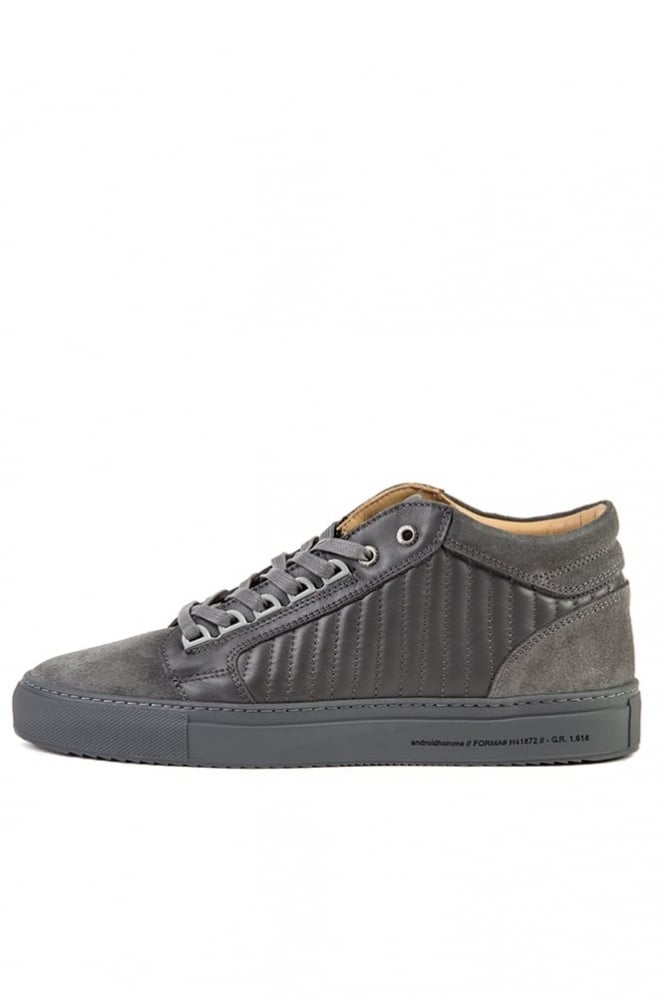 Android Homme Propulsion Mid Trainers Dark Grey